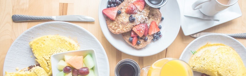 Start your day with delicious homemade Breakfast